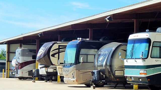 RVs in Storage