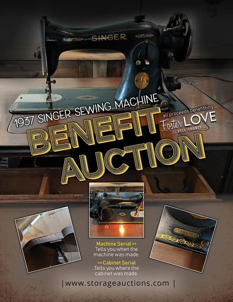 benefit auction flyer
