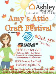 Amy's Attic 4th Craft Festival