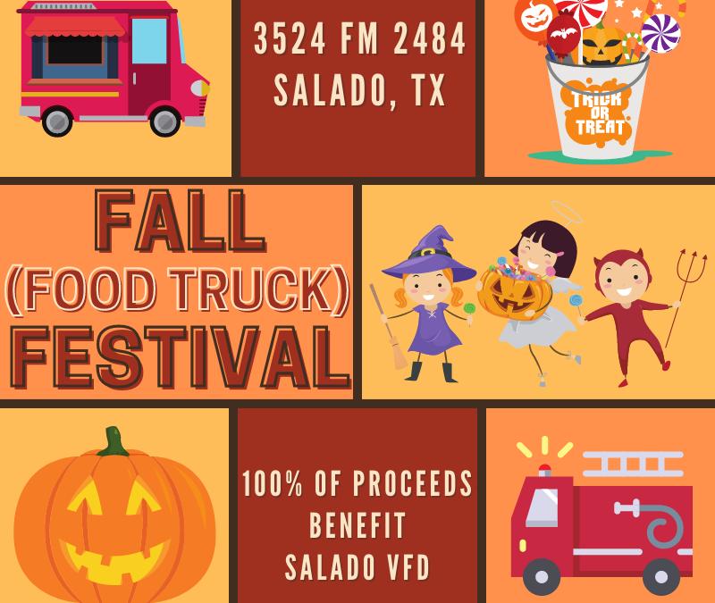 Amy's Attic Self Storage's Fall (Food Truck) Festival Supports Salado Volunteer Fire Dept.