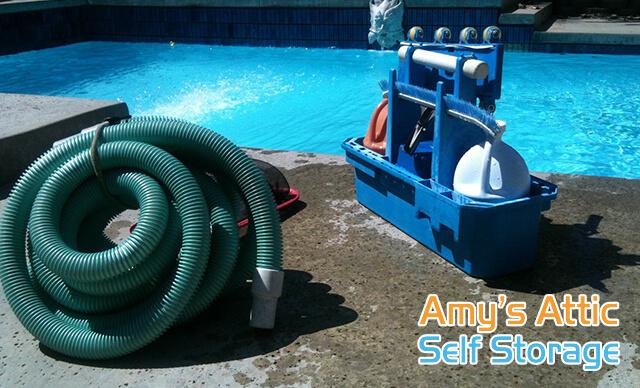 Pool Equipment Storage Tips