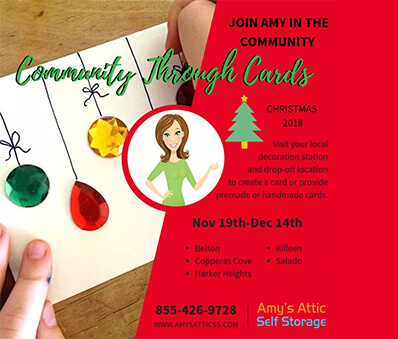 Community Through Cards Event