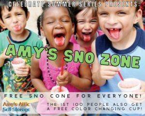Celebrate Summer Sno Cone Event