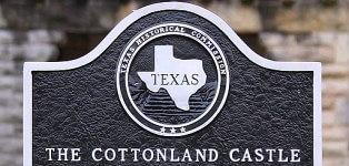 The Cottonland Castle Sign
