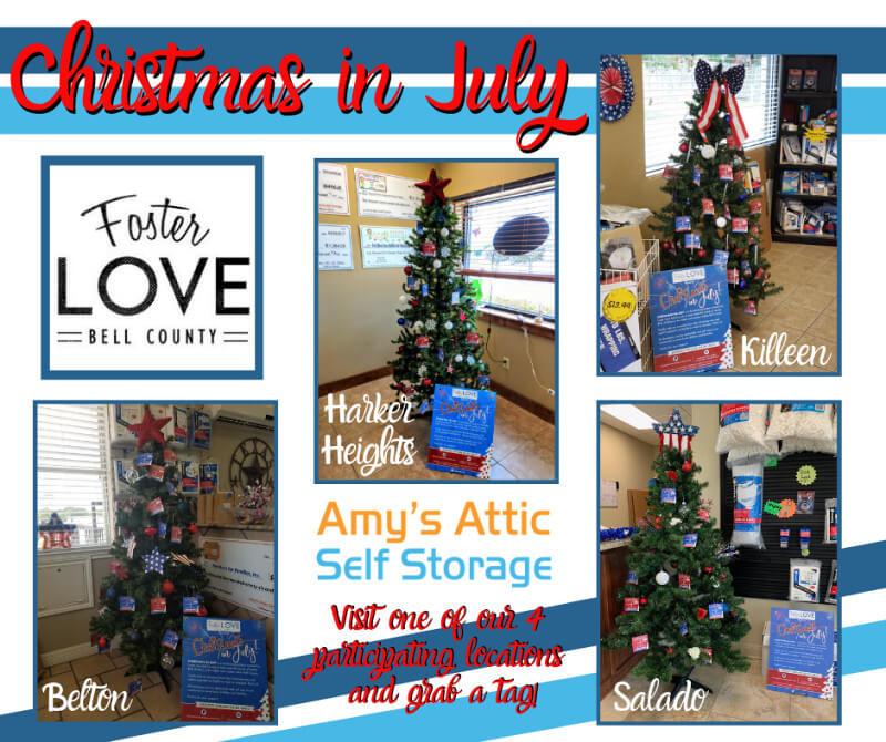 Foster Love Bell County | Christmas in July