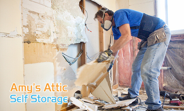 How Self Storage Can Ease Your Upcoming Texas Home Renovation