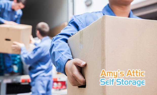 Relocation Self Storage and Corporate Relocation Storage at Amy's Attic Self Storage