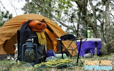 Top Tips for Storing Camping and Fishing Gear