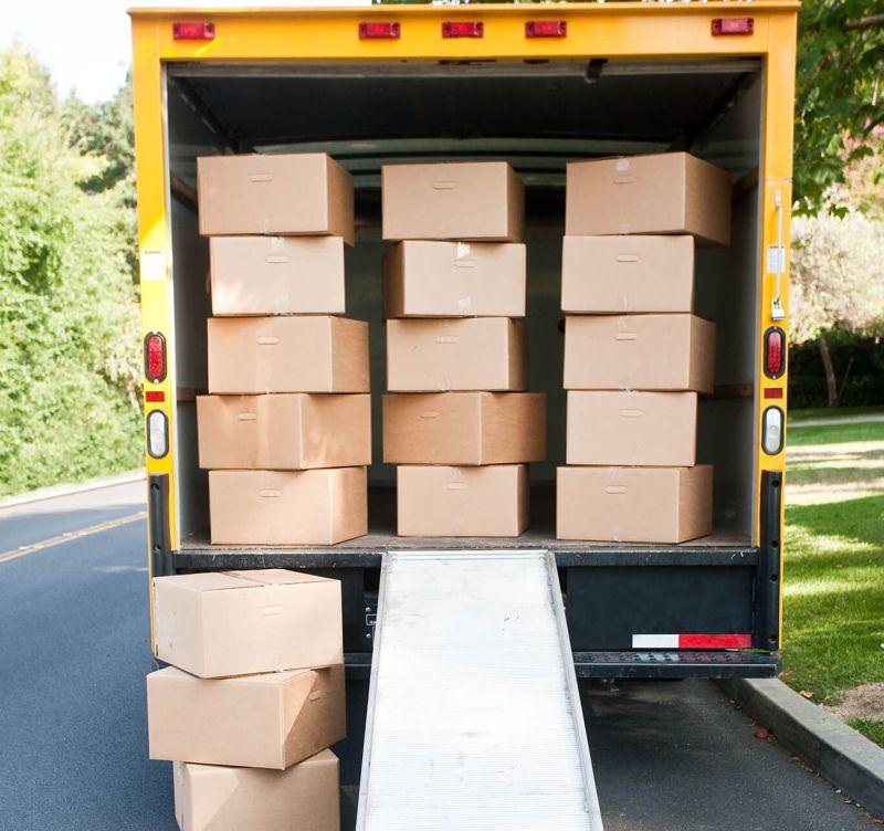 valet storage in box truck
