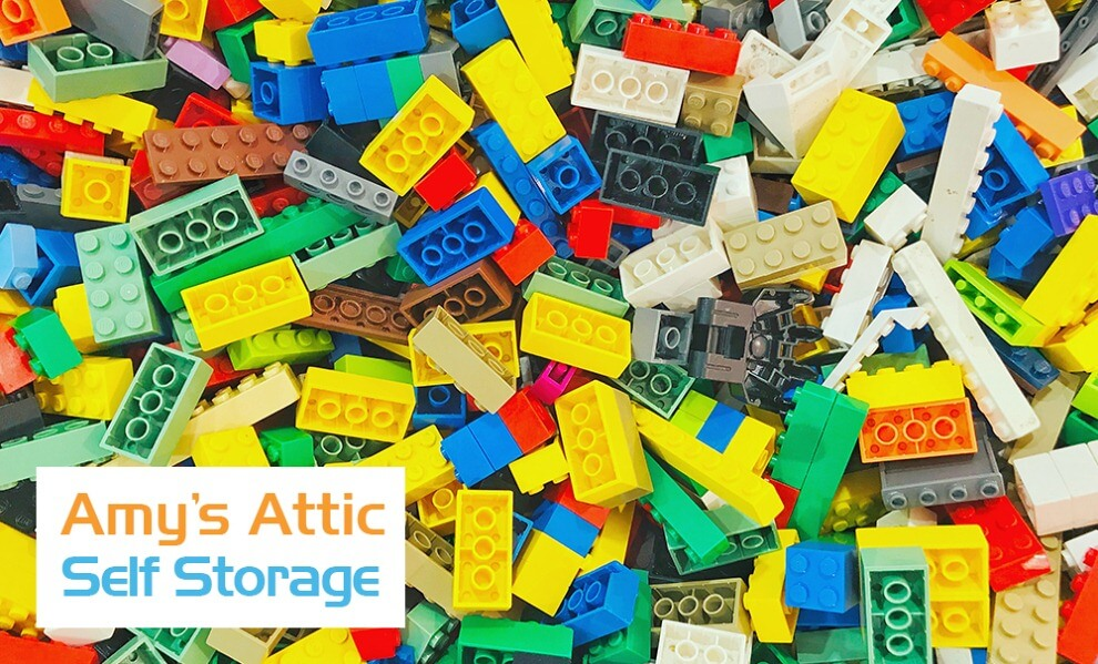 Storing LEGOs in Texas