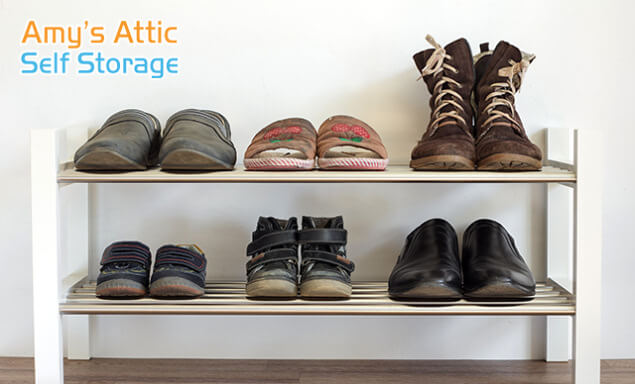Best Practices for Storing Shoes in Self Storage Units