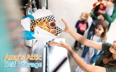 Amy's Attic Self Storage Hosts Food Truck Friday