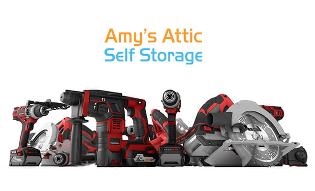 Power Tools Storage Amy's Attic