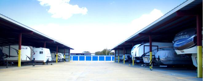 trailer storage in Central Texas
