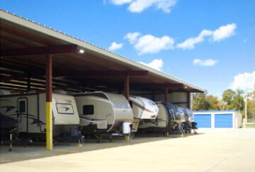 Trailer Storage in Texas