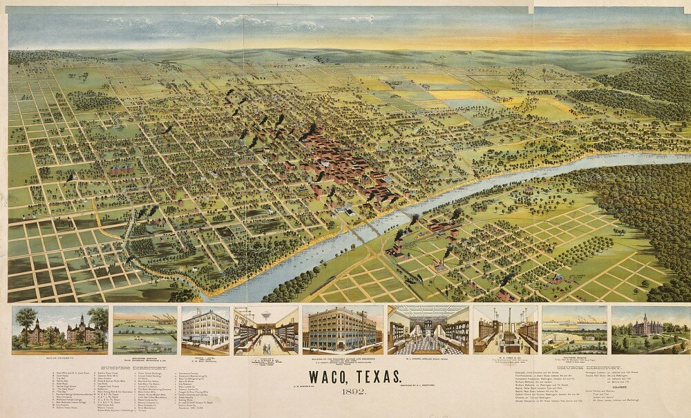 Waco TX 1892