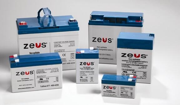 Zeus rechargeable batteries